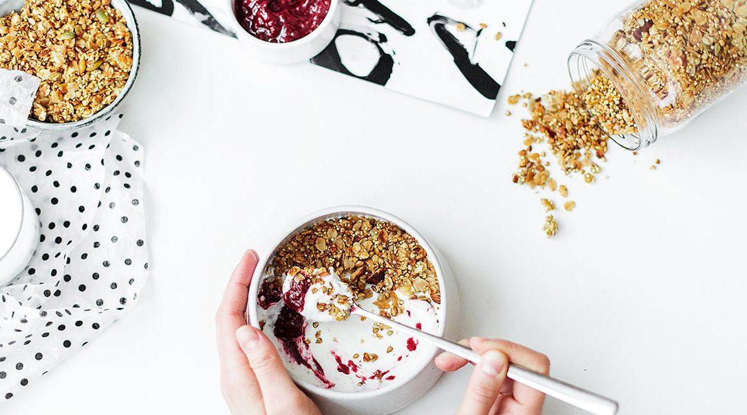 Yogur con Muesli, te ayudará a controlar tu colesterol