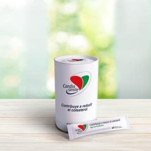 Canister cardiosmile, producto chileno natural que ayuda a reducir el colesterol